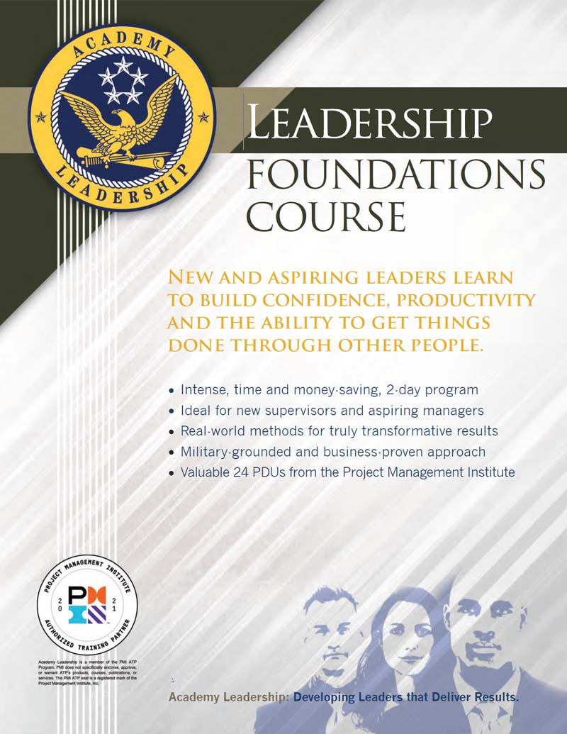 Download Leadership Foundations Course Brochure
